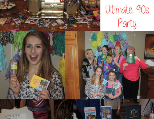 How to throw an awesome 90s party