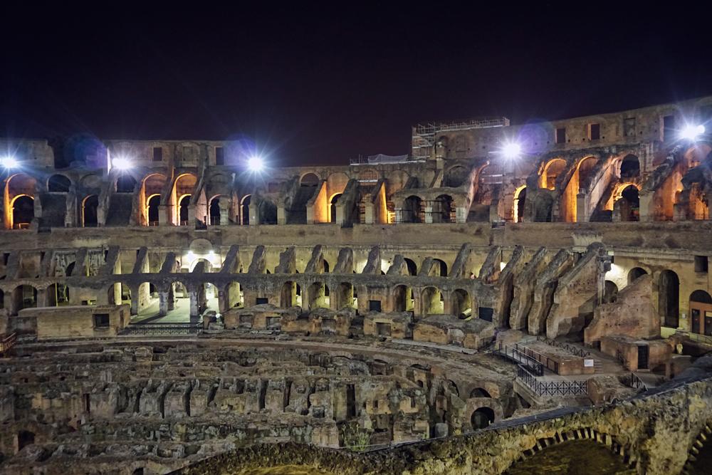 Nighttime Colosseum Tour