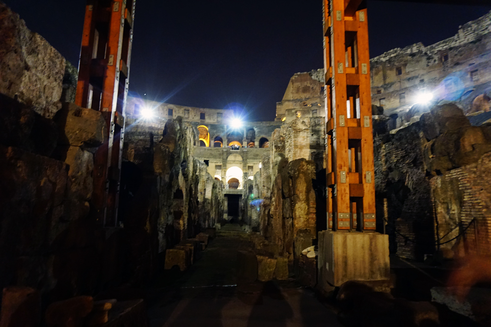 Nighttime Colosseum Tour