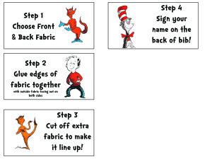 Step by Step DIY Bandana Instructions