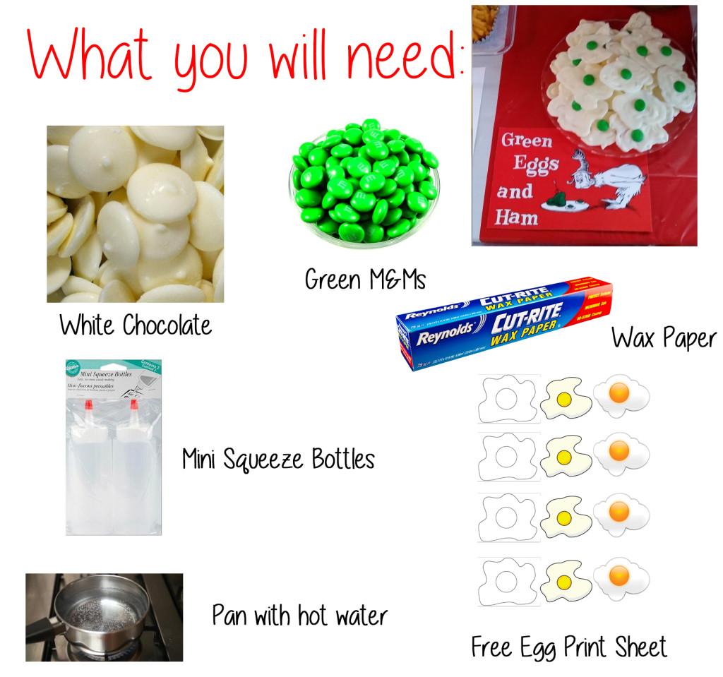 Green Egg & Ham White Chocolate Tutorial