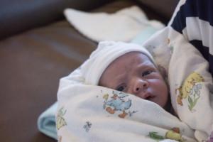 Newborn Baby Reed Thomas