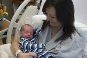 Beautiful Momma and baby Reed Thomas