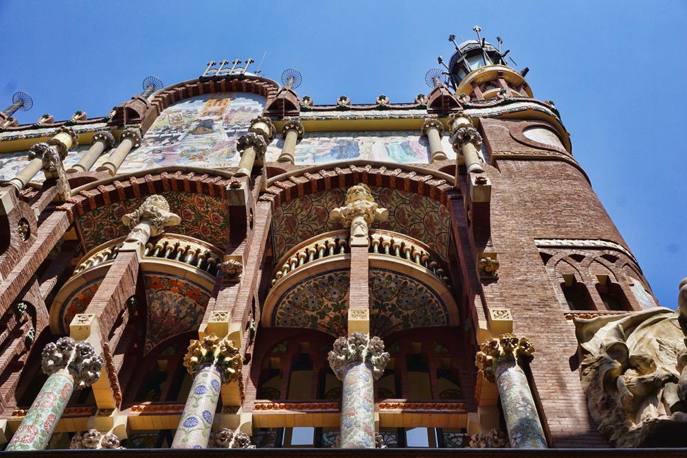 Barcelona Architect Guadi's work