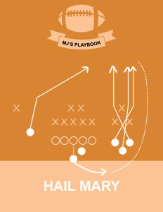 Football Playbook Wall Art