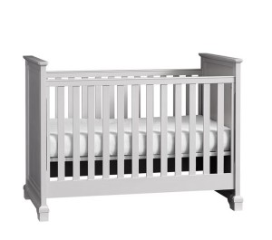 Gray Crib by Pottery Barn