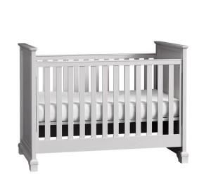 Gray Crib by Pottery Barn