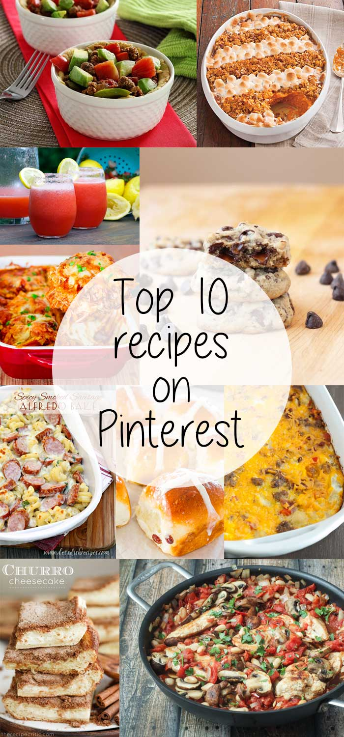 Top 10 Recipes on Pinterest