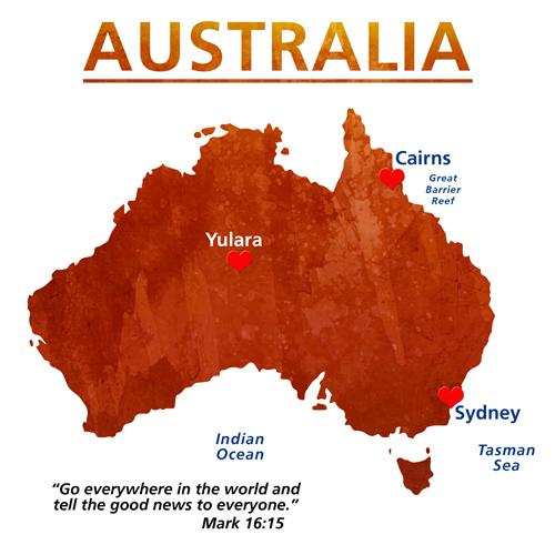 Australia Travel Maps