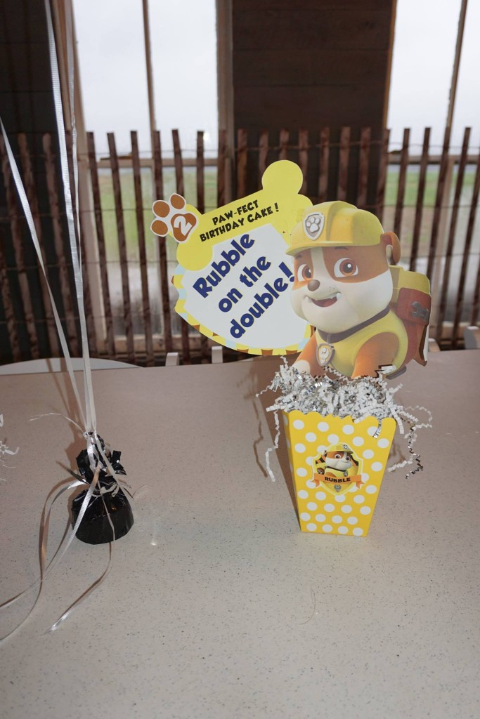 Paw Patrol Birthday Centerpieces