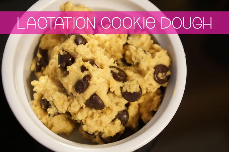 Lactation Cookie Dough
