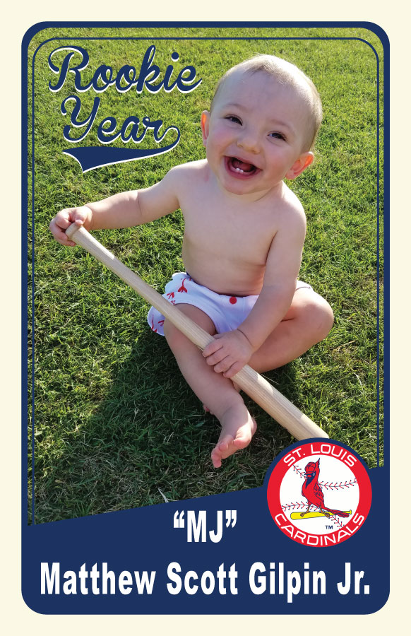 Personalized Baseball Cards For Birthday Parties